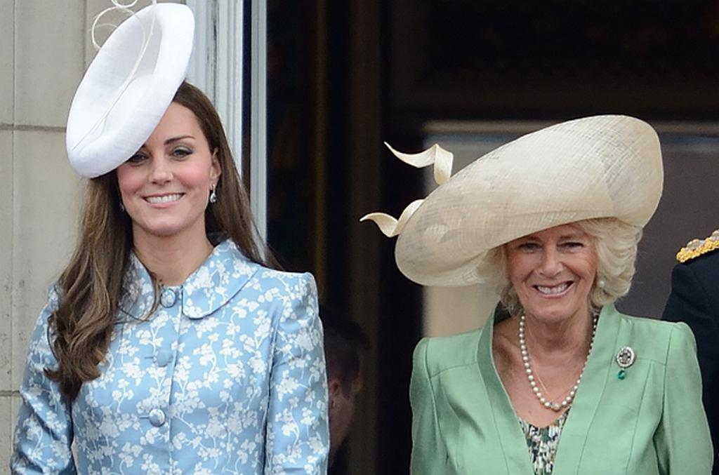 Księżna Kate i księżna Camilla