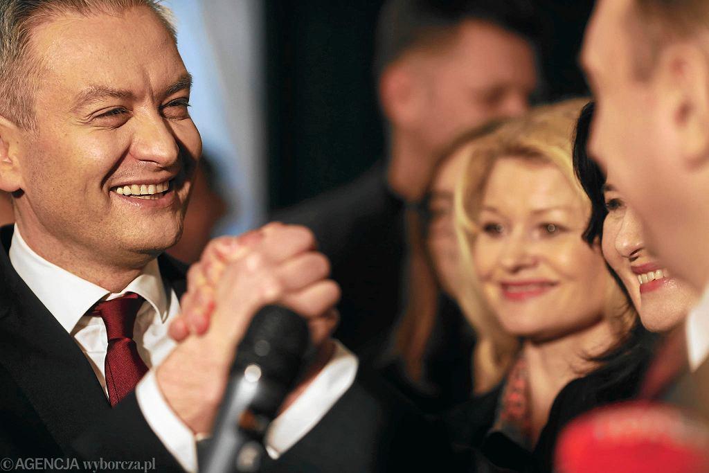 Robert Biedroń w Łodzi, 5 lutego 2020 r.