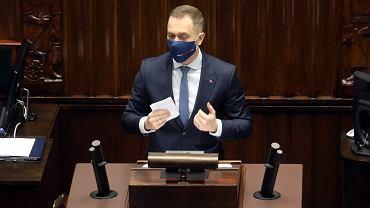 Cezary Tomczyk w Sejmie
