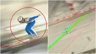 Halvor Egner Granerud stracił zwycięstwo w Zakopanem przez błąd przy wyjściu z progu w trakcie drugiego skoku