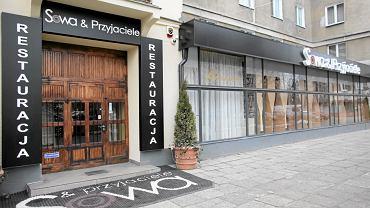 Restauracja, w której spotykali się politycy. Nagrania robiono jednak w kilkunastu lokalach Warszawy