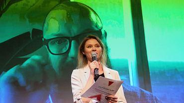 Iwona Pawluk z 'Wyborczej' i Tomasz Opasiński, dyrektor kreatywny Netflix
