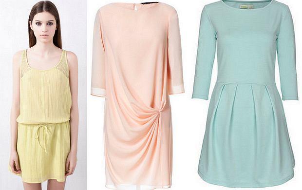 HIT: pastelowe sukienki do 200 zł