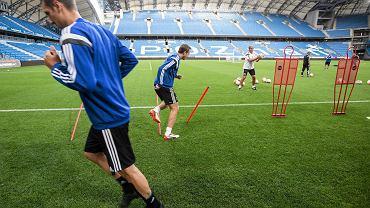 Trening FC Basel. Transmisja