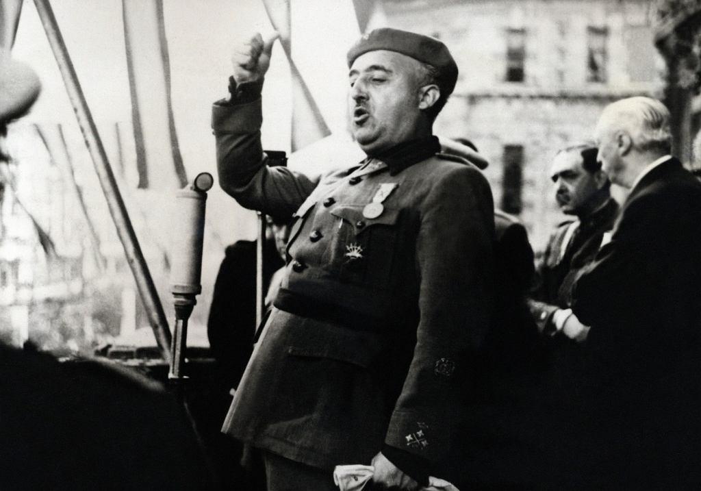 Generał Francisco Franco, Bilbao 1939