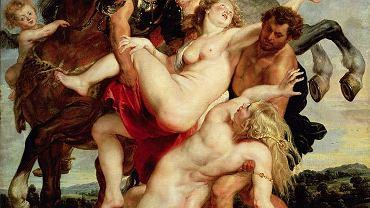 Peter Paul Rubens, Porwanie córek Leukippa, ok. 1618