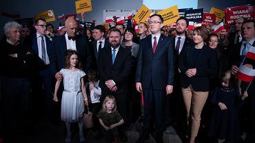 Wybory do Parlamentu Europejskiego. Kandydaci Konfederacji Korwin Braun Liroy Narodowcy [LISTA]