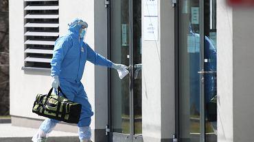 Pandemia koronawirusa. Szpital Uniwersytecki w Krakowie
