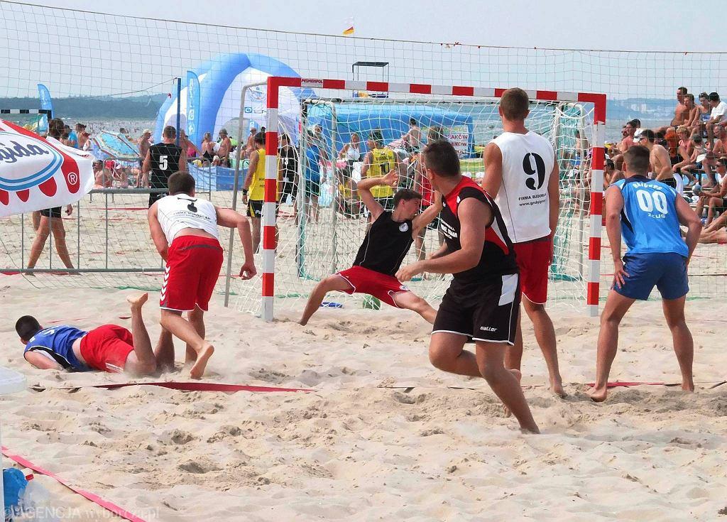 Puchar Polski w piłce ręcznej plażowej, Świnoujście. Turniejowe mecze BHT Auto Forum Petra Płock