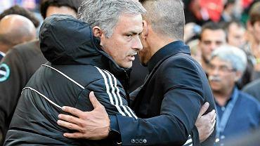 Atletico - Chelsea. Trenerzy Jose Mourinho i Diego Simeone