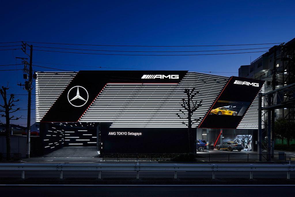 Salon AMG w Tokio