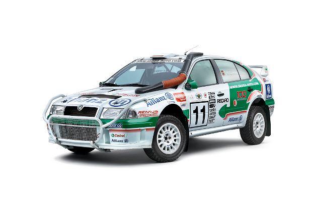 Skoda Octavia WRC o mocy 300 KM (2003)
