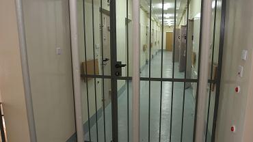 Policyjna izba zatrzymań (zdjęcie ilustracyjne)