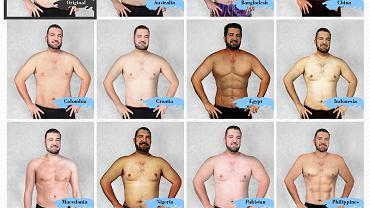 Jak wygląda idealne ciało mężczyzny w różnych krajach?