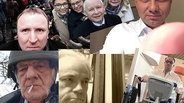 Selfie polityków