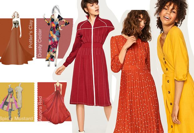 Zdjęcie numer 1 w galerii - Kolory jesieni. Jakie kolory będą modne w tym sezonie? Kolory jesień 2018