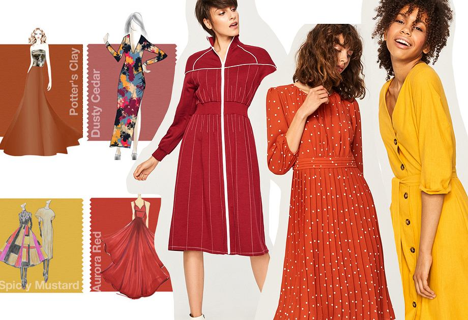 Kolory jesieni. Jakie kolory będą modne w tym sezonie? Kolory jesień 2018