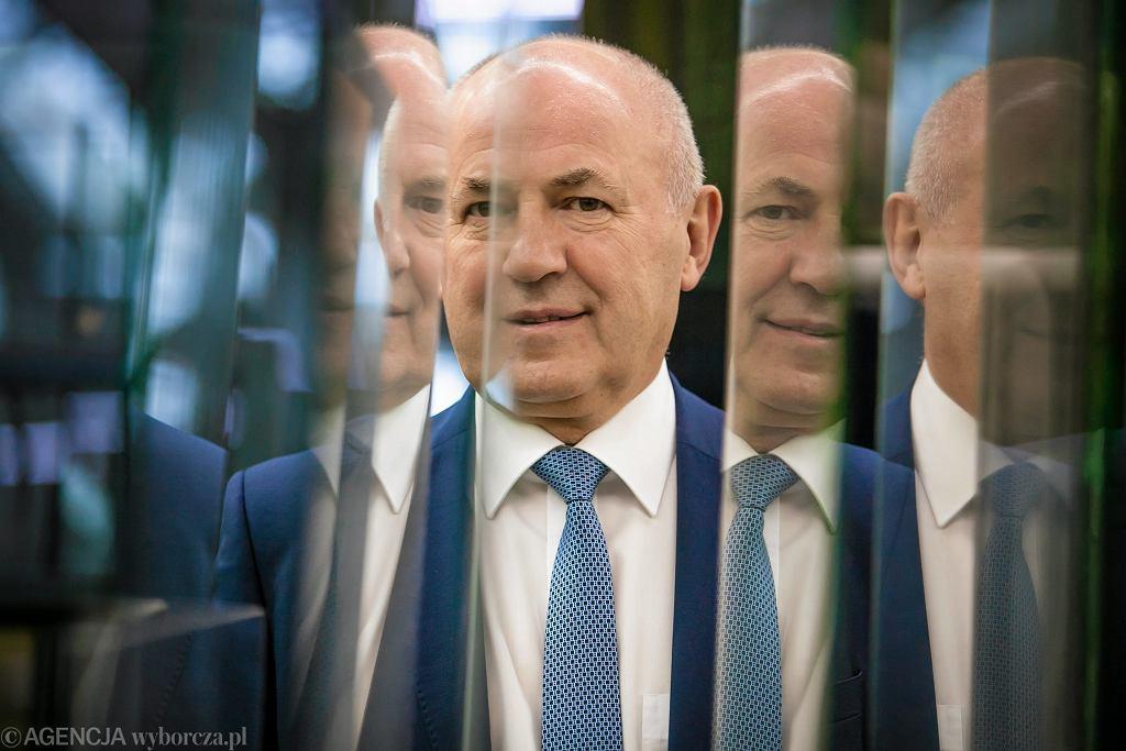 Leszek Gierszewski, prezes firmy Drutex.