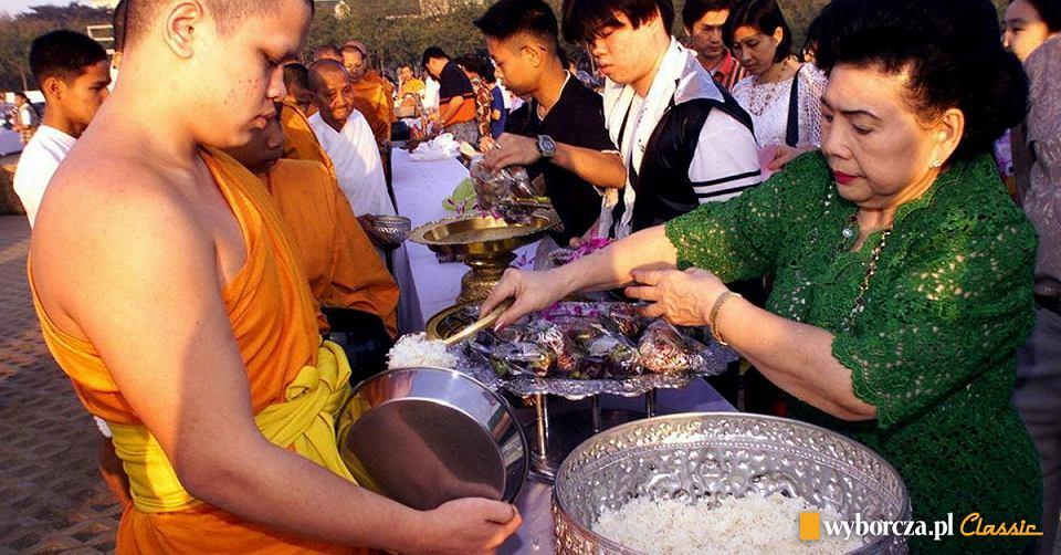 Pierwszy dzień nowego wieku w Bangkoku