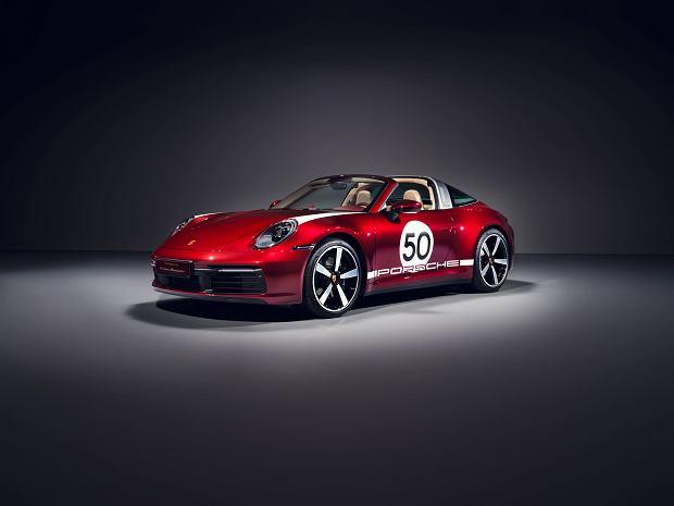 Porsche 911 Targa 4S Heritage Design Edition - edycja limitowana modelami z lat 50.