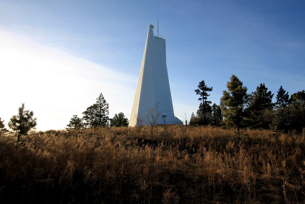 Jeden z teleskopów obserwatorium Sunspot