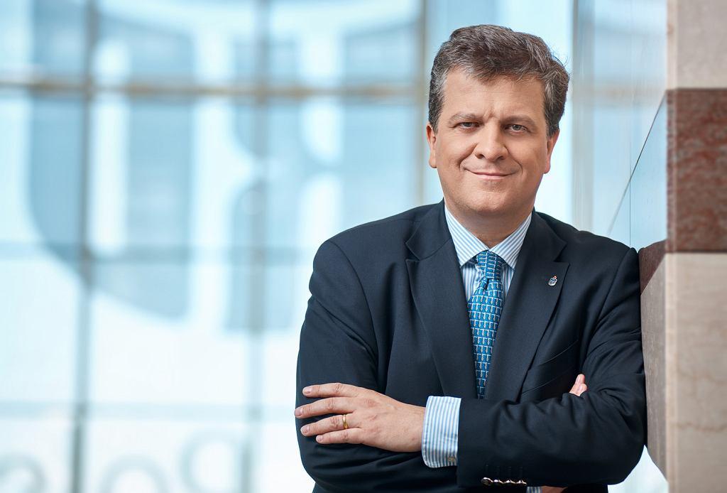 Jan Emeryk Rościszewski, dotychczasowy wiceprezes PKO BP