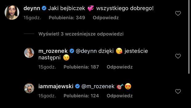 Rozenek odpowiada Deynn