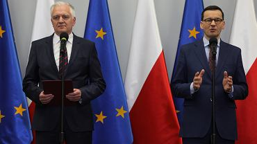 Mateusz Morawiecki i Jarosław Gowin