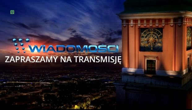 Czołówka Wiadomości TVP