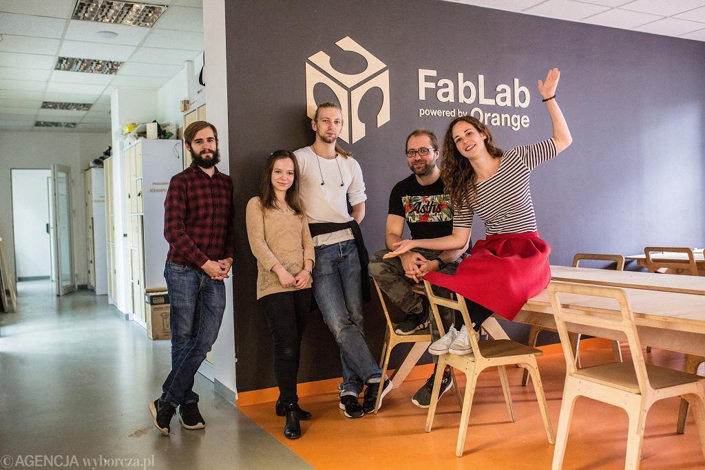 FabLab powered by Orange przy ul. Twardej w Warszawie