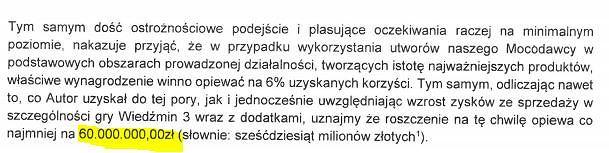 Pełnomocnik Andrzeja Sapkowskiego przesłał CD Projekt wezwanie do zapłaty