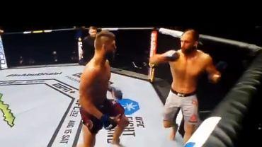 Co za nokaut na gali UFC!