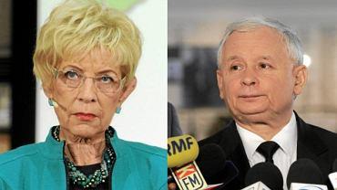 Janina Paradowska, Jarosław Kaczyński