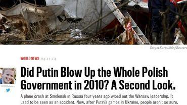 Media w USA zwracają uwagę, że coraz więcej Polaków wierzy w teorię o zamachu