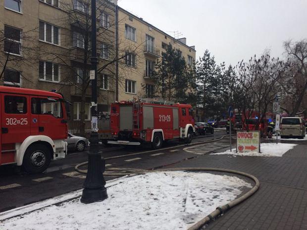 Pożar przy Racławickiej