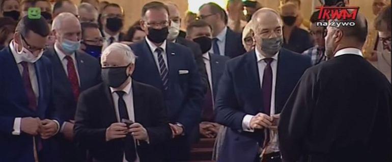 Kaczyński, Morawiecki i wielu ministrów znów u Rydzyka. Otworzyli park