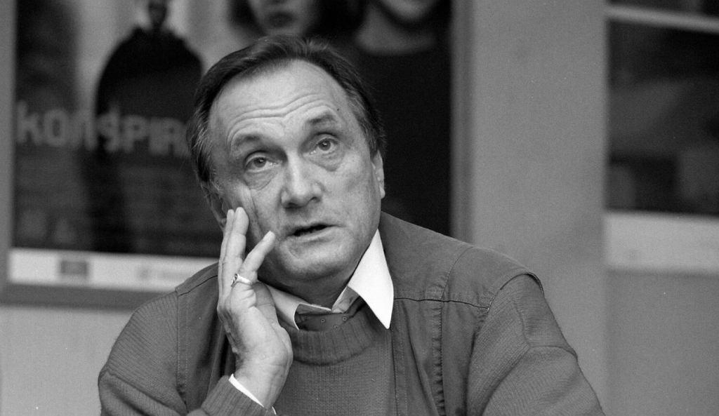 Krzysztof Gradowski - reżyser filmu 'Kleks triumfuje'.