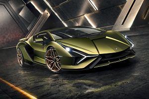 Lamborghini Sian. Pierwsza hybryda włoskiej marki