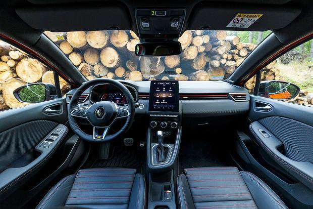 Wnętrze Renault Clio 5