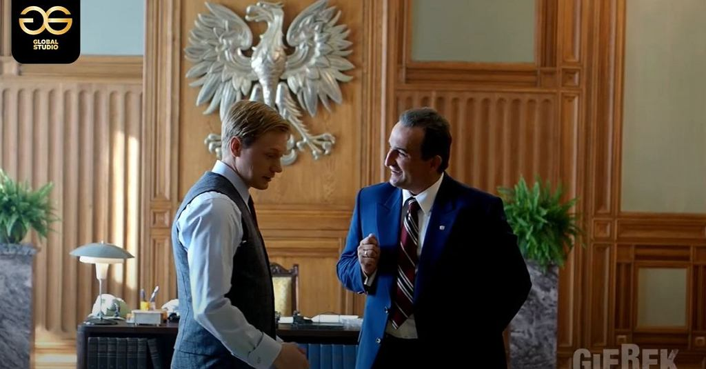 'GIEREK' film - Michał Koterski mówi po francusku - making of