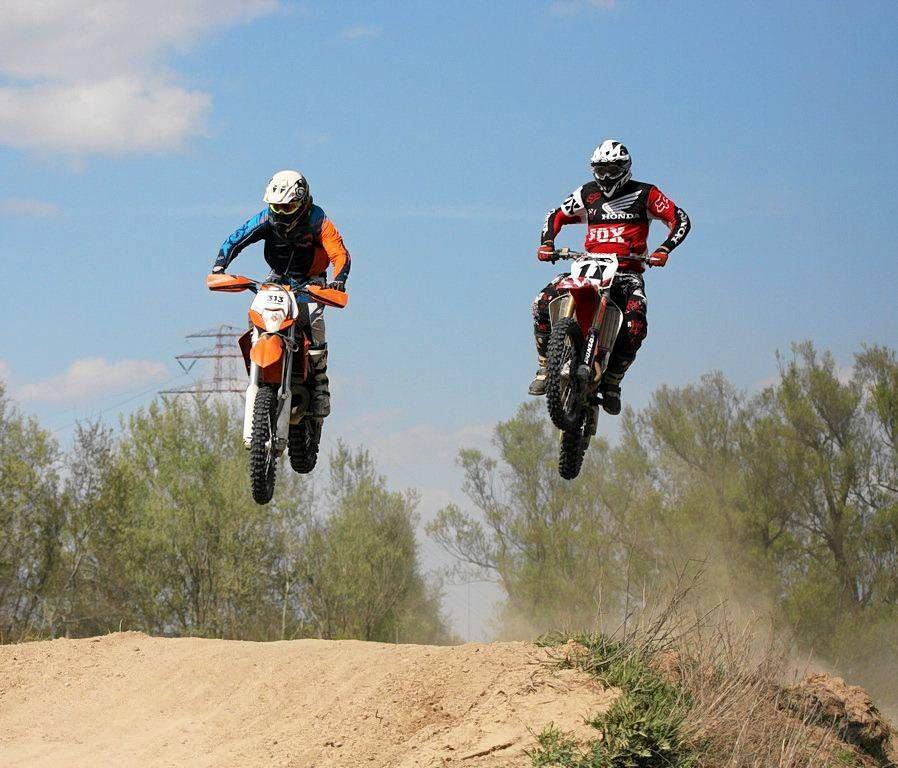 Trening odbył się na torze motocrossowym przy moście Solidarności