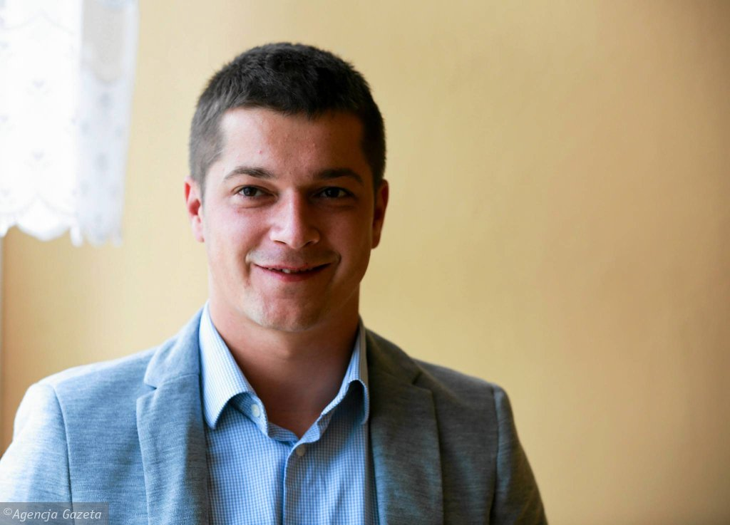 Marcin Płuska, nowy trener Widzewa
