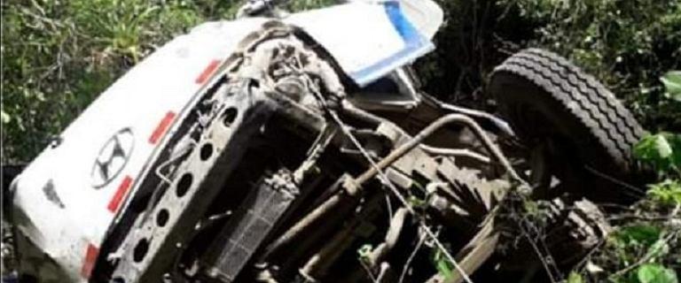 Tragiczny wypadek w Peru. Autokar z młodzieżowym zespołem piłkarskim spadł w przepaść