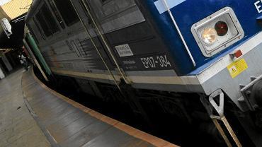 Pociąg TLK, zdj. ilustracyjne