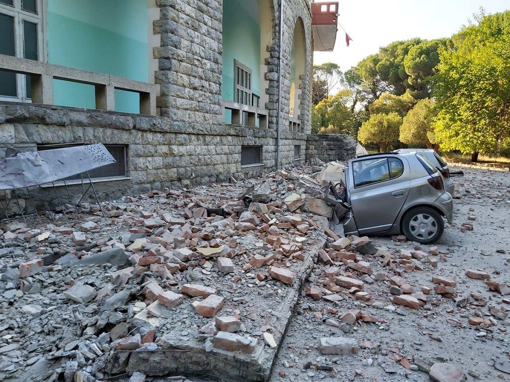 Trzesienie ziemi w Albanii
