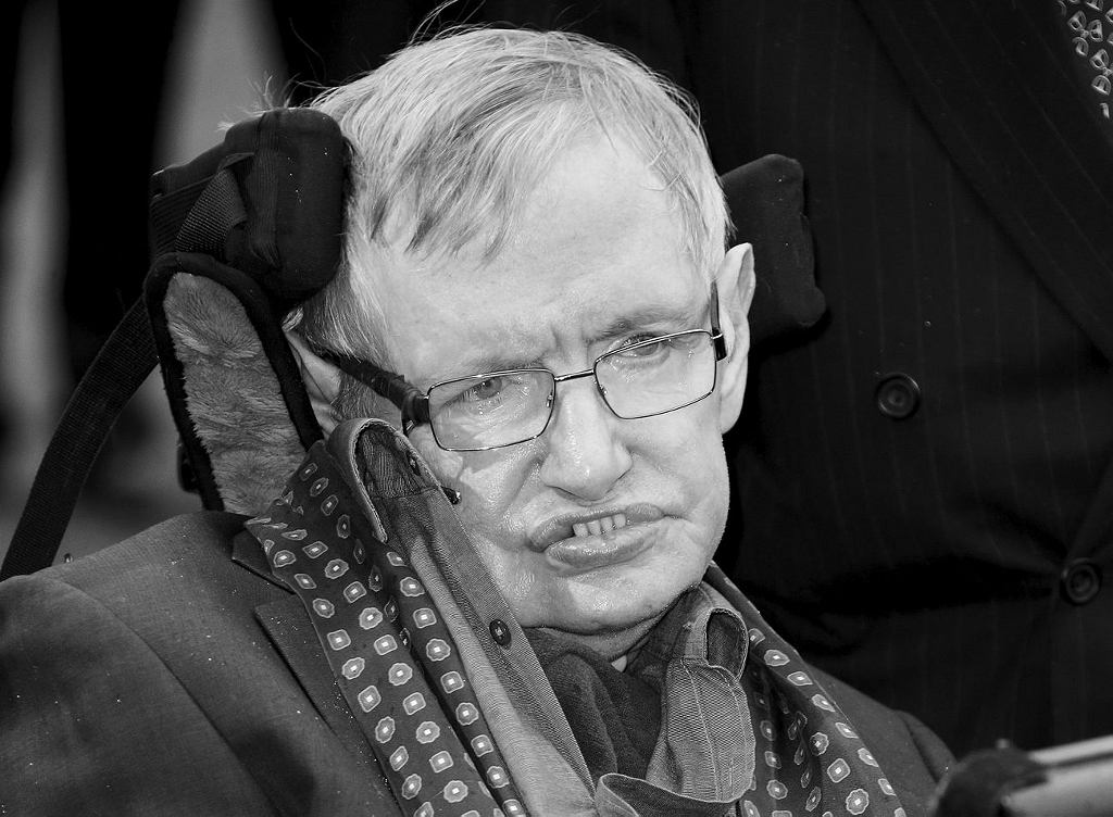 Stephen Hawking, 2015.