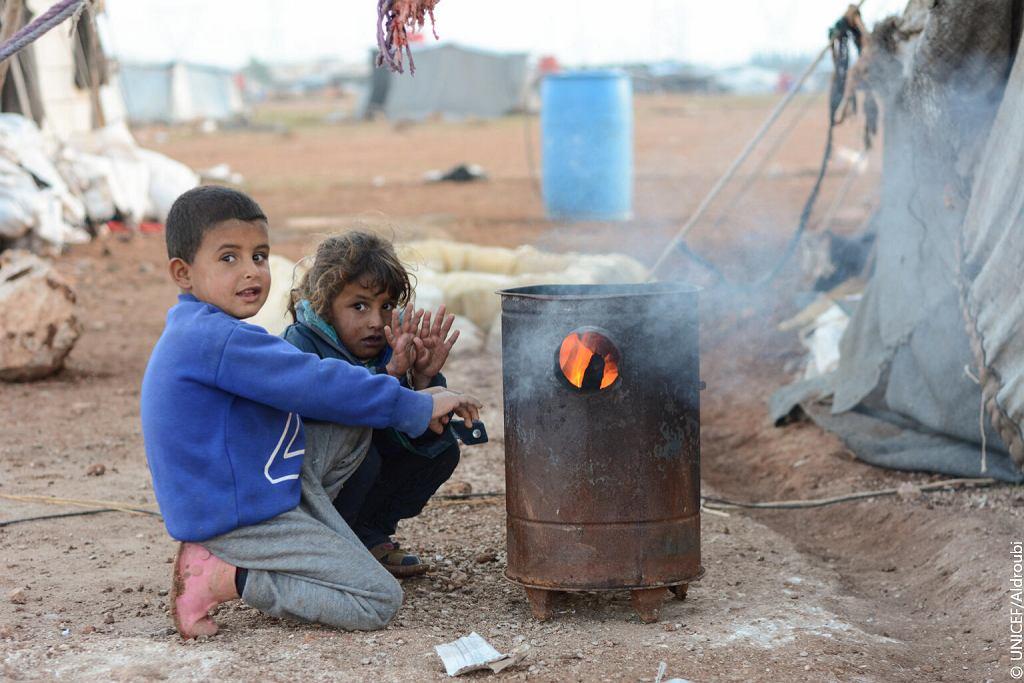 W potrzebie jest ponad 6 mln syryjskich dzieci.