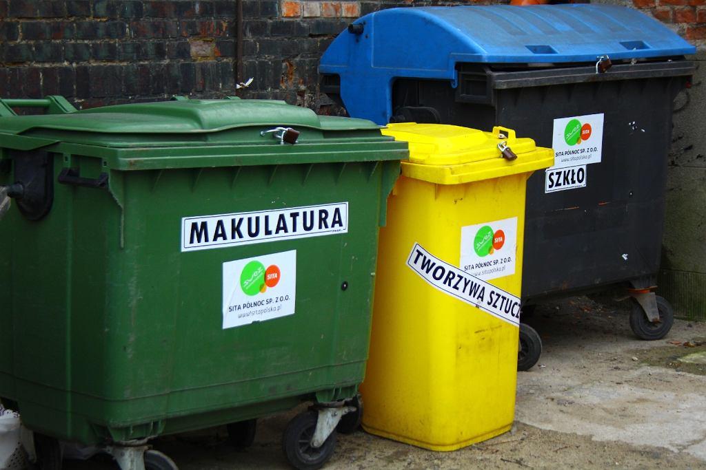recykling, śmieci