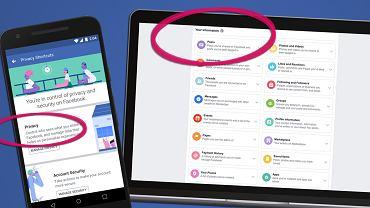 Facebook zmienia sposób zarządzania prywatnością
