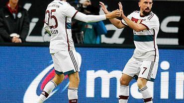 Thomas Mueller i Franck Ribery